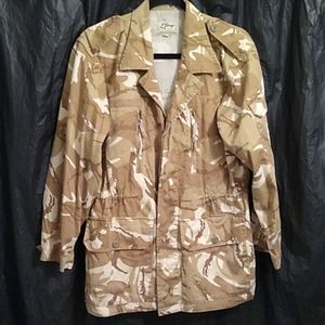 💖 L'Berge camouflaged button up jacket S